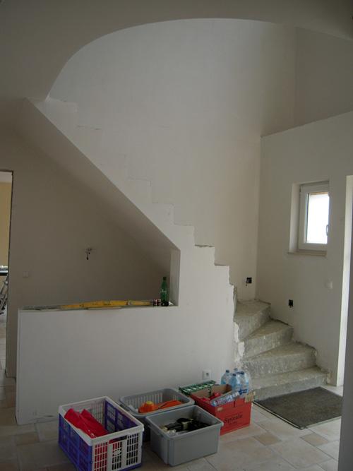 Quelles couleurs pour mon hall d 39 entr e for Hall entree avec escalier