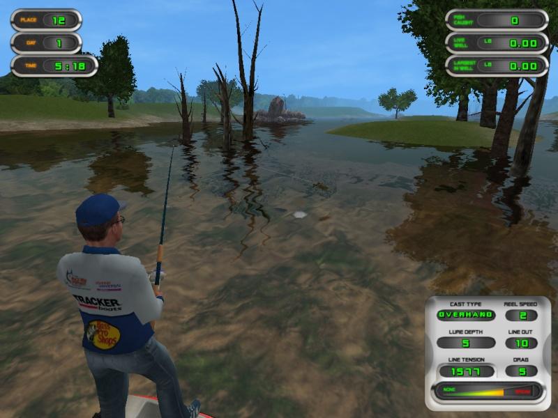 Les rapports sur la pêche sur la rivière lam