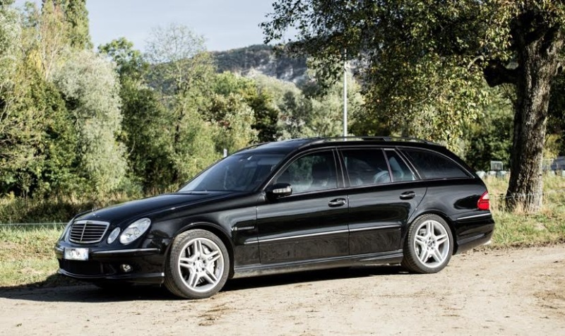 mercedes e55 amg v8 kompressor w211 break. Black Bedroom Furniture Sets. Home Design Ideas
