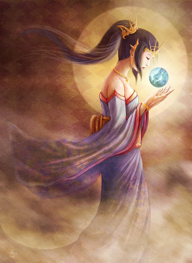 Amaterasu and the Magatama