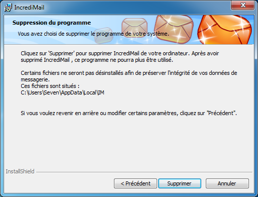 2.5 WINDOWS 7 FRANCAIS POUR INCREDIMAIL TÉLÉCHARGER EN