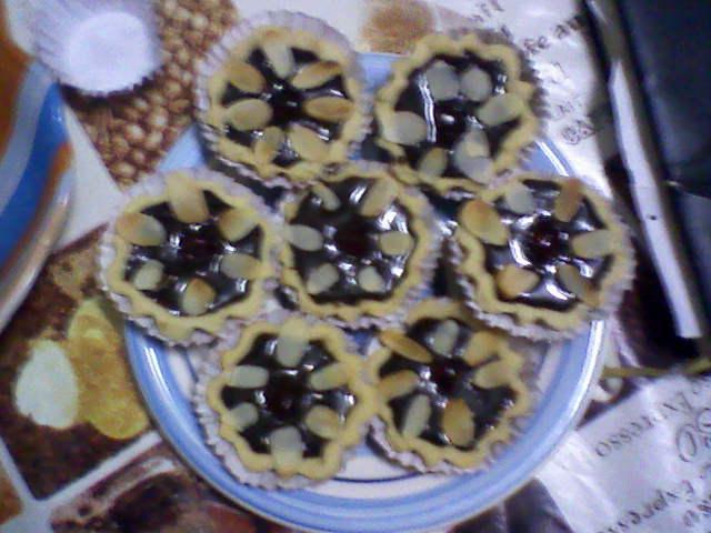 tartelettes  à la crème chocolat  photos34