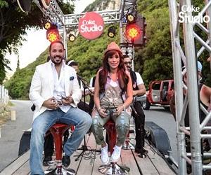 رامي عياش و امينة بينا نسهر الأغنية MP3 من Coke Studio