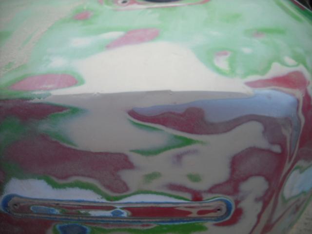 Team kawa z650 voir le sujet tuto peinture - Peinture qui cache les defauts ...