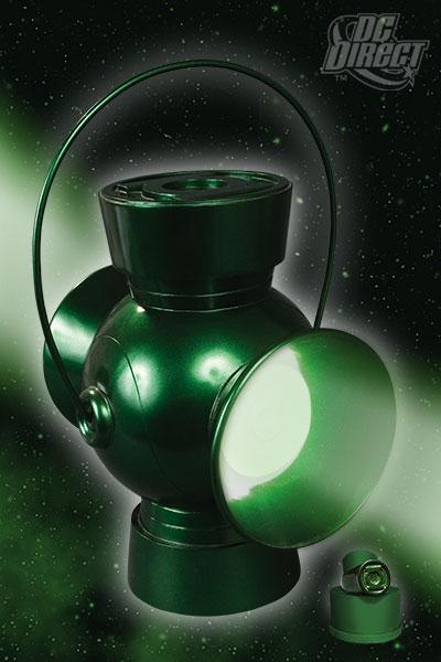 Jla Trophy Room Green Lantern Power Battery Prop Replica