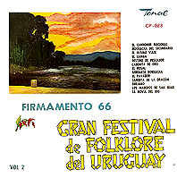 folk u10 - Gran festival del folklore del Uruguay Firmamento 66, vol. 2 (1966) V.A. mp3