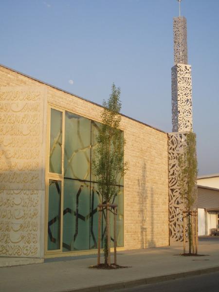 مسجد من زجاج