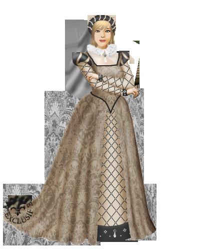 a10d878e6cb5 Elle chercha une solution pour garder la robe après le défilé, peut-être  qu en la tachant un peu on lui laisserait...Aller courage ma grande, ce  n est pas ...