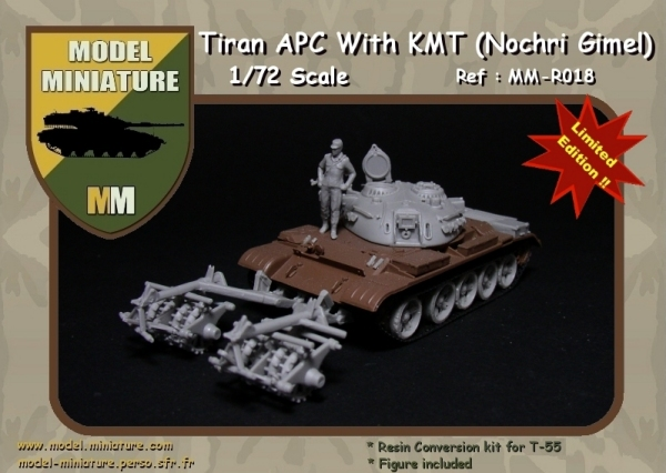 News model miniature tiran 5 and tiran apc 1 72