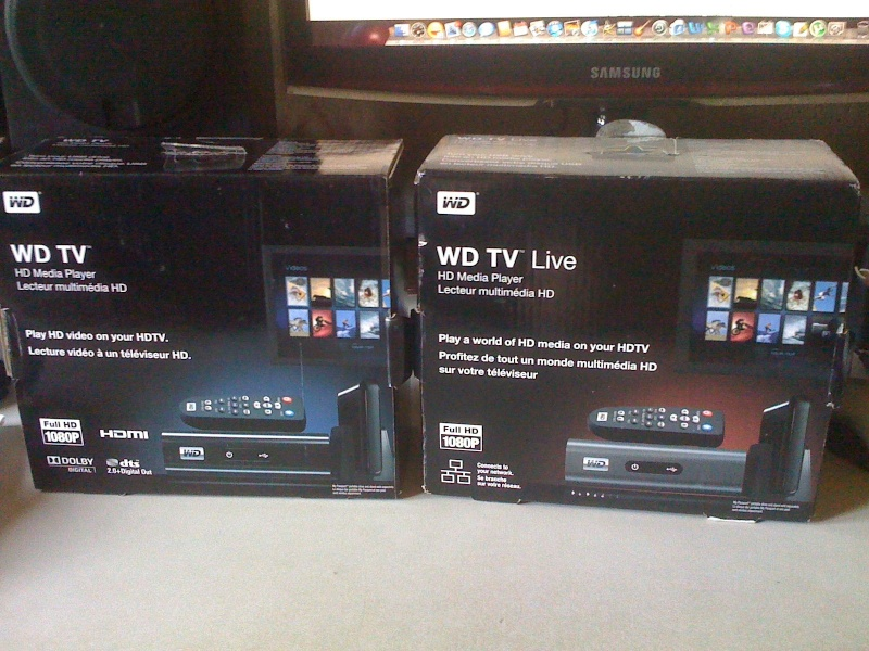 how to connect wd live tv to network