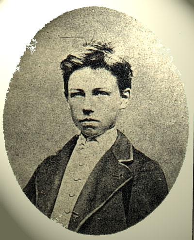 Portrait Rimbaud jeune - cliché Carjat 01