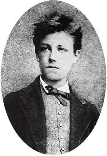 Portrait de Rimbaud par Carjat