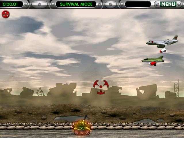 حصريا لعبة الدبابة الطائرة جامده ومثيره فقط علي كريزي مان