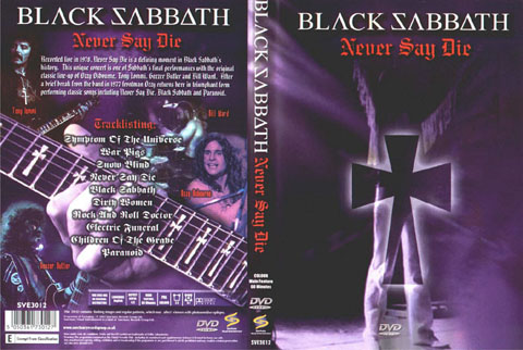Black Sabbath   Never Say Die preview 1