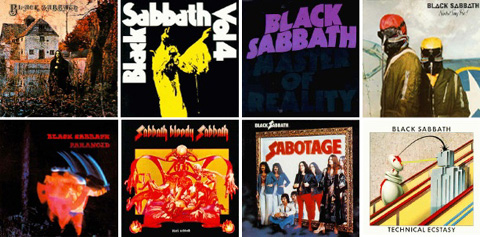 Black Sabbath   The Black Box (Discography from 1970 1978) preview 1