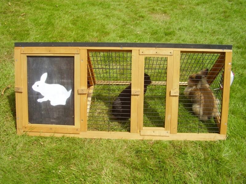 Cage d 39 exterieur for Cage lapin exterieur