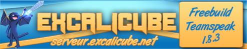 Serveur Minecraft ExcaliCube