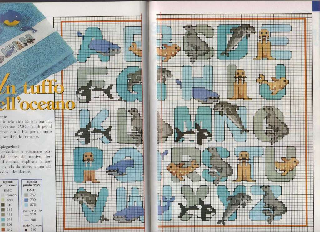 Des grilles d' alphabets ! - Chez elkalin.com