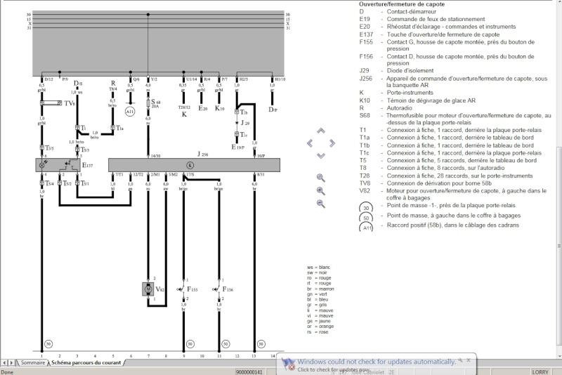 sch ma lectrique capote lectrique. Black Bedroom Furniture Sets. Home Design Ideas