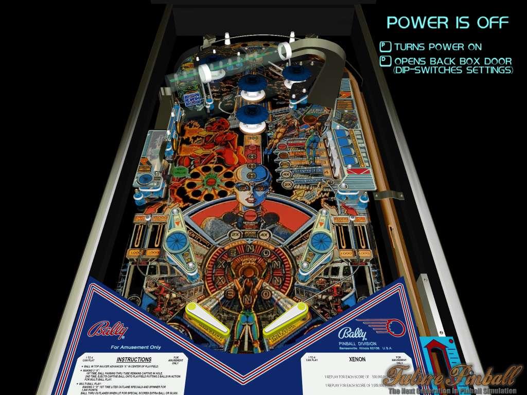 Noflix LightBoard Kit, Pinball 2000 -