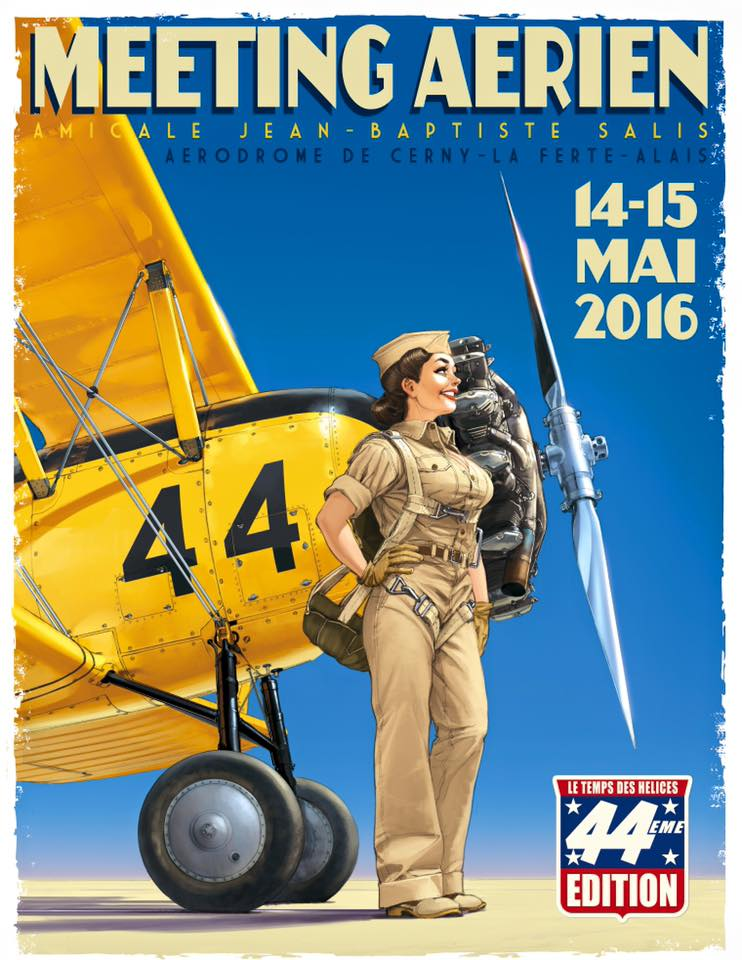 meeting Aerodrome Jean-Baptiste Salis 2016, Ferté Alais 2016, Temps des Hélices 2016, Meeting Aerien 2016, Airshow 2016, French Airshow 2016