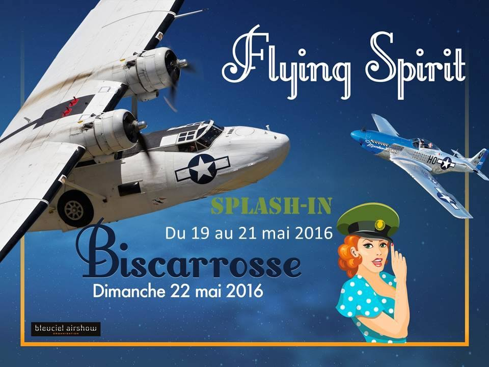 FLYING SPIRIT 2016, Free Flight World Masters 2016, Rassemblement International d'Hydravions 2016, Biscarrosse 2016, Meeting Aerien 2016,Airshow 2016, French Airshow 2016