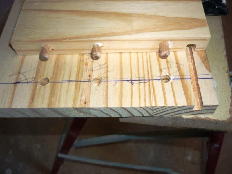 assemblage tiroir bois avec tourillons