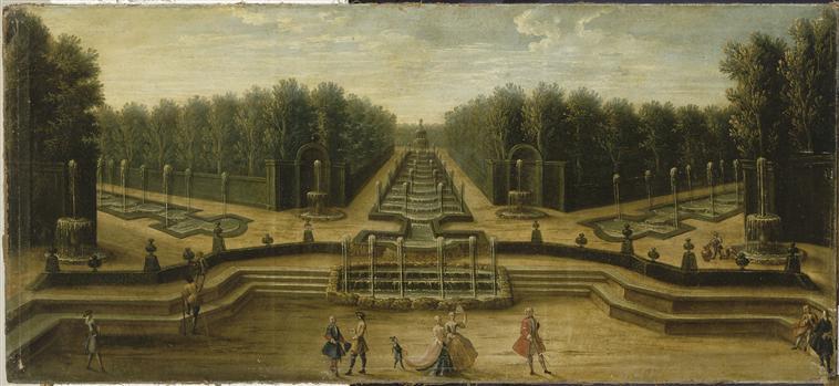 Versailles l 39 ancien bosquet du th tre d 39 eau for Entretien jardin versailles