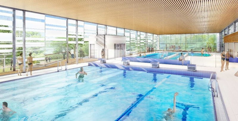La piscine frot sera ras e et reconstruite for Piscine frot meaux