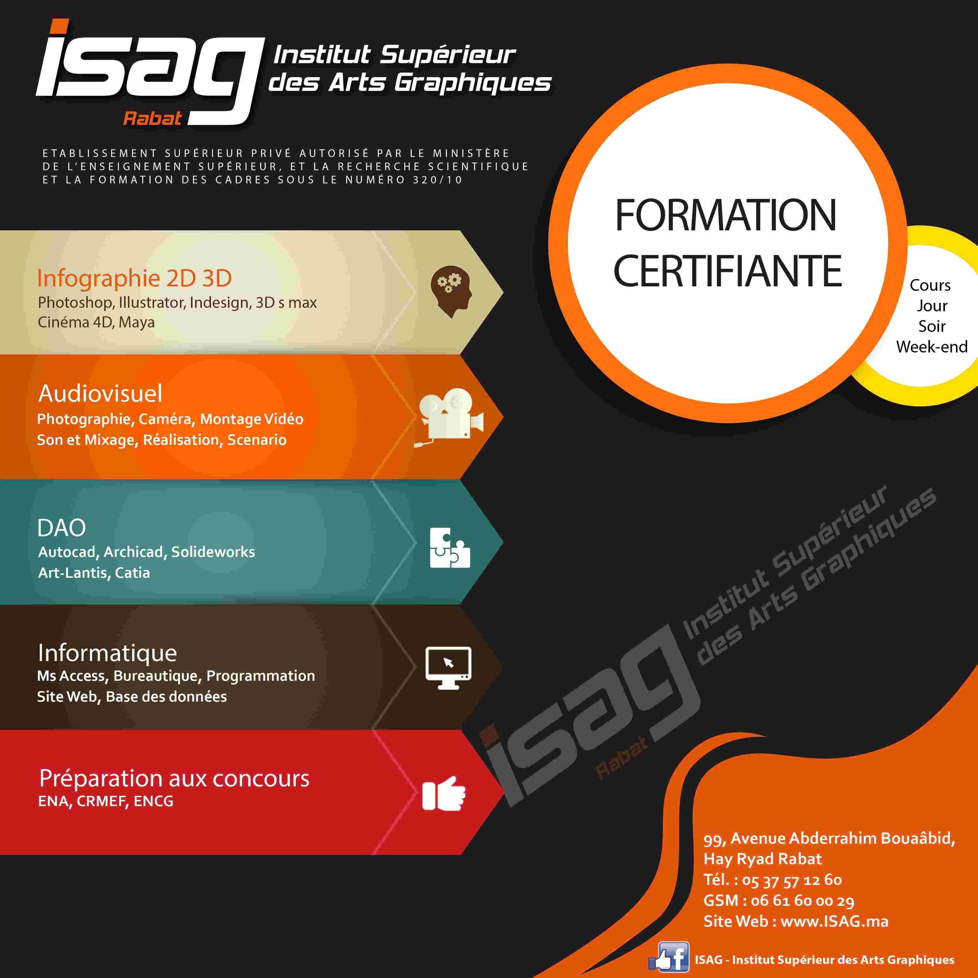 ISAG Formation Certifiante
