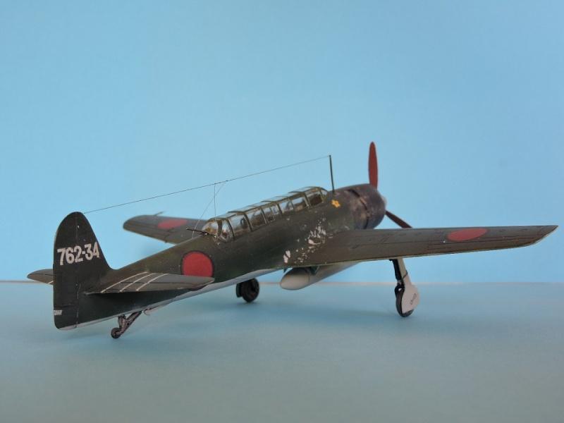 Fujimi nakajima c6n1 saiun myrt - Porte avion japonais seconde guerre mondiale ...