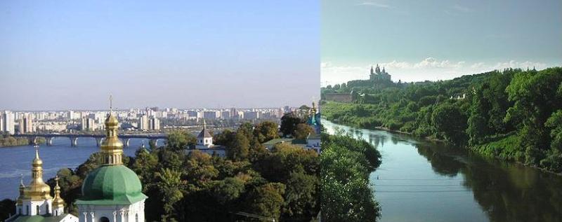 Les grands fleuves d'europe