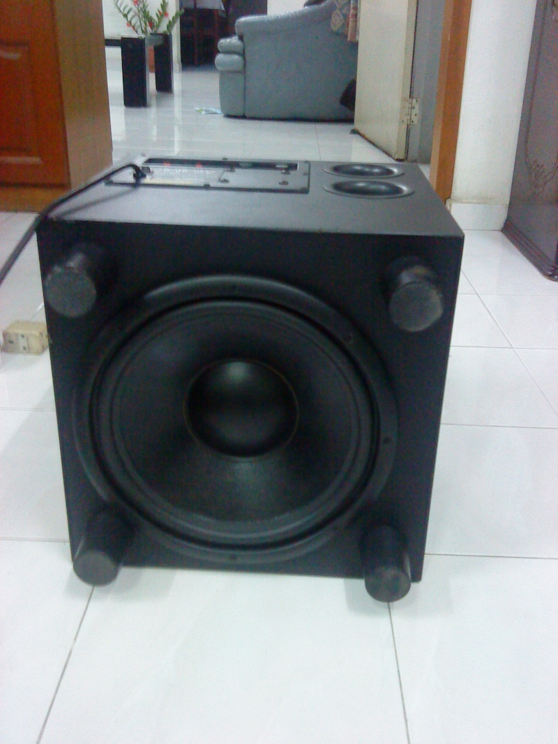 Infinity Bu 120 Subwoofer Used Sold