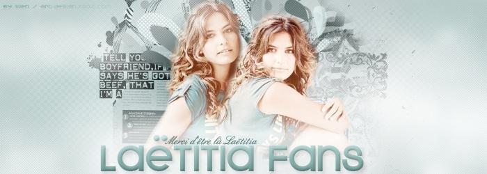 Laëtitia Fans | Forum #1