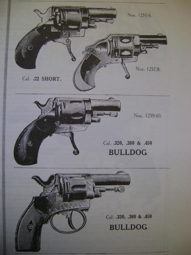 Bulldog v lo dog cycliste et autres r volvers avec leur for Pistolet 6mm bosquette