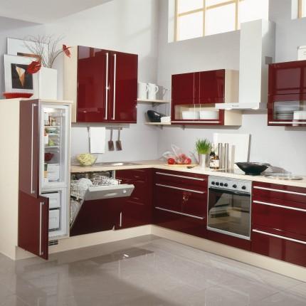Pr relooking salon entr e ouvert avec cuisine page 1 for Cuisine moderne rouge