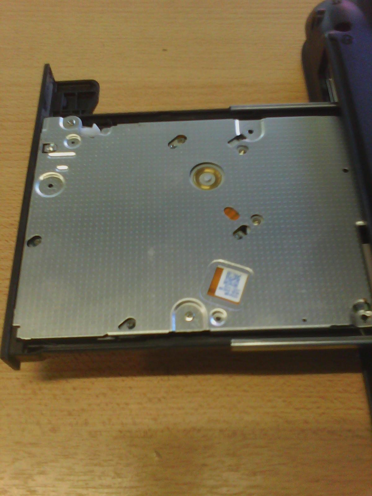 Reparar lectora notebook