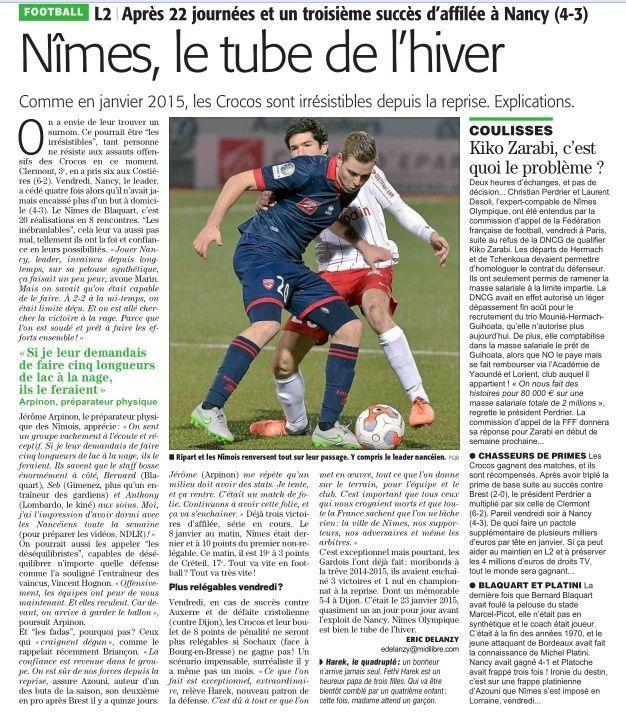 Nimes foot forum