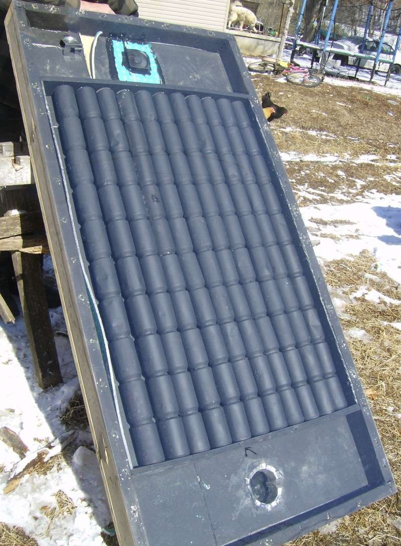 pop can solar heater