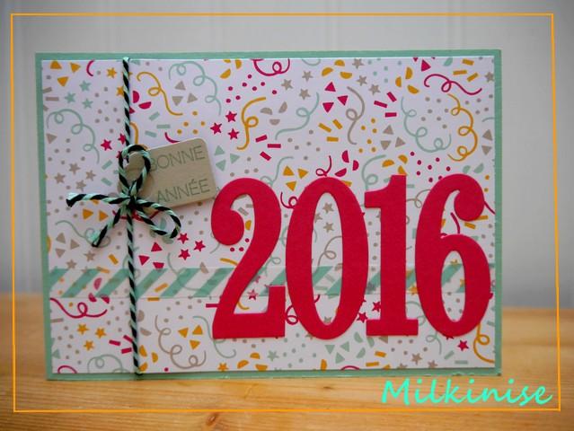 Vos meilleurs voeux 2016 !