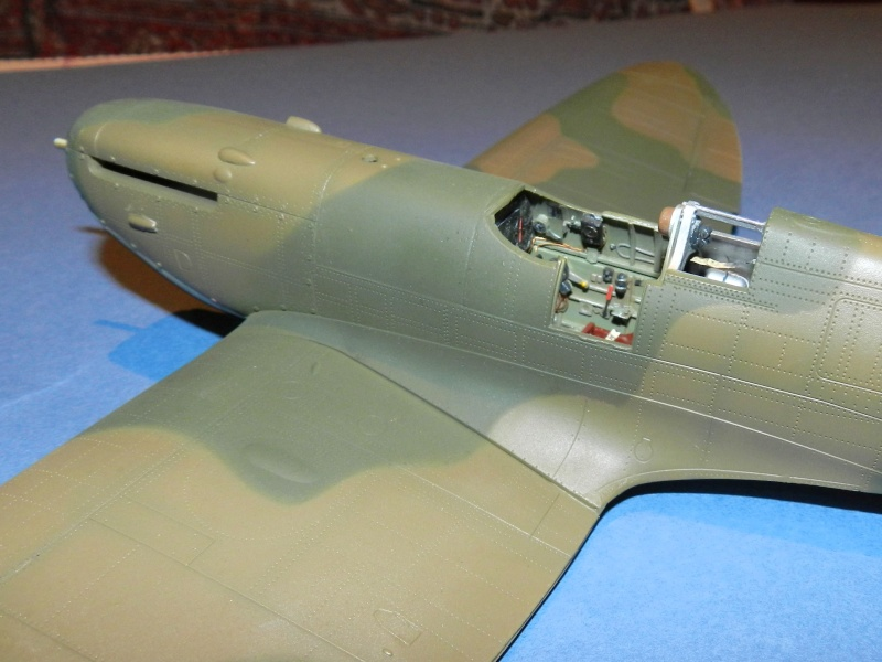 Spitfire mk iia p7665 yt l no 65 squadron east india for Mastiquer une fenetre