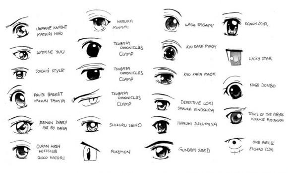 voici quelques yeux pour ceux que ca intéresse ^^
