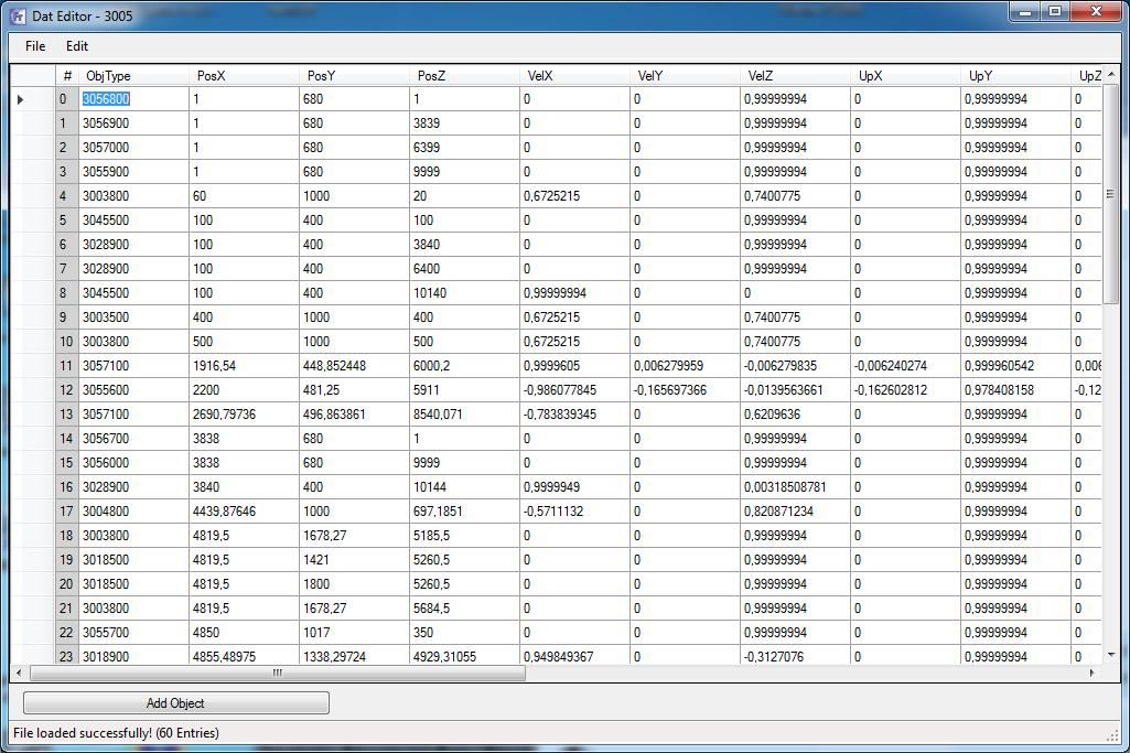 Release]  dat Editor / Visualizer / w/e - RaGEZONE - MMO development