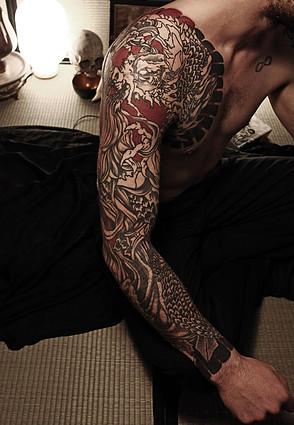Complément sur le tatouage japonais. Avant,propos