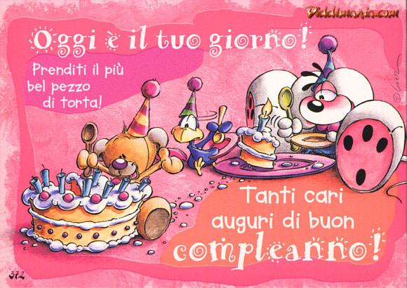 Cartoline Auguri Buon Compleanno Facebook Auguri di Buon Compleanno