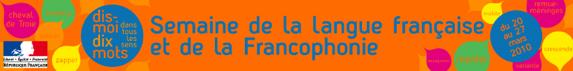 La Semaine de la Francophonie 2010