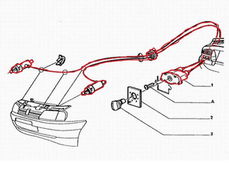 monter des phares double optique longue port e sur grdt. Black Bedroom Furniture Sets. Home Design Ideas