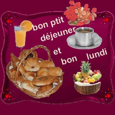 """Résultat de recherche d'images pour """"bon lundi petit dejeuner"""""""