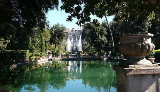 Les jardins de la villa d 39 este tivoli for Jardin villa d este