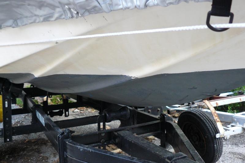 enlèvement bateau polyester